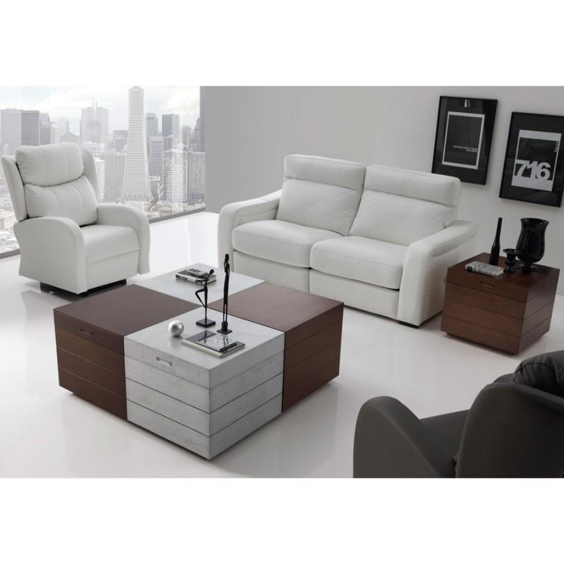 Mesa de centro kubo mesas de centro disemobel menamobel Mesas extraibles salon